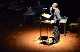 "from the Premiere performance of the new composition from Sergej Maingardt's ""Unknown Identity"" - Konzertsaal der Hochschule fuer Musik und Tanz Koeln."