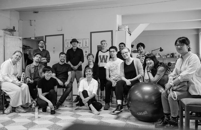 Workshop in improvisation in Helsinki in collaboration with Äänen Lumo Organisation and Temporary, Finland