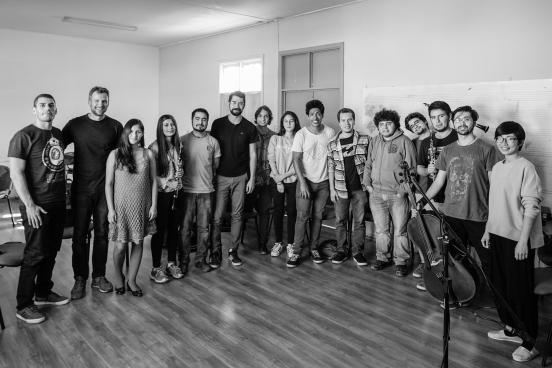 Workshop at Departamento de Música de la Universidad de La Serena, Chile
