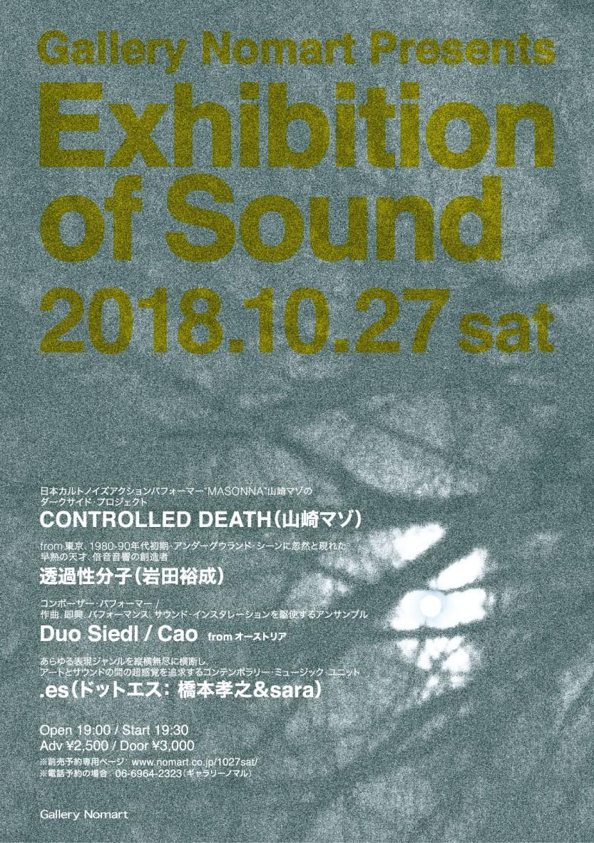 Nomart Gallery Osaka concert Poster